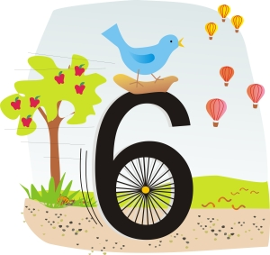 6 is a unicycle, watch me ride